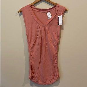 NWT New York & Co v-neck dressy top